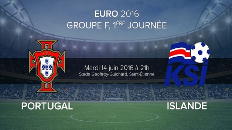Analyse du Match Portugal Islande Euro 2016